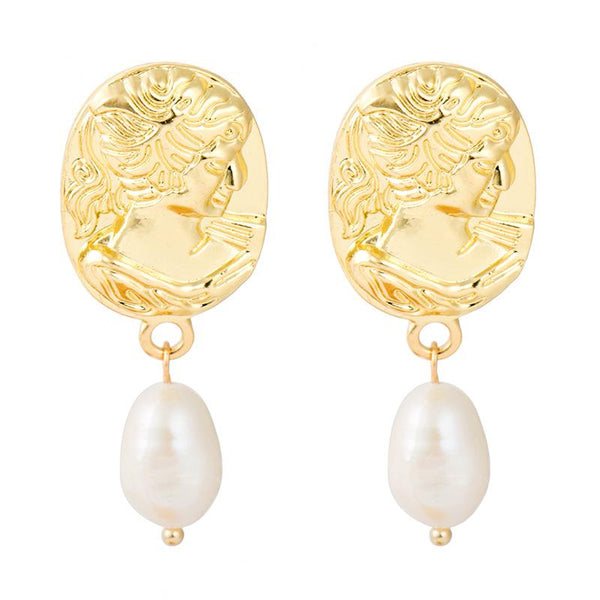 Mia Gold Plated Earrings