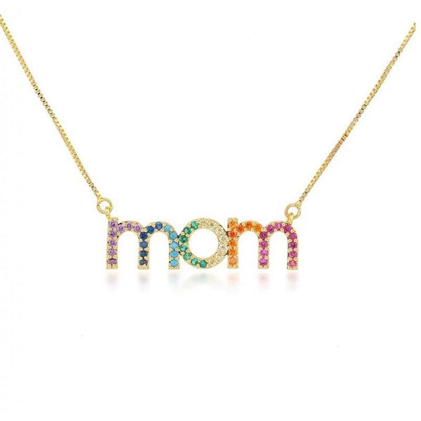 Mom Pattern Necklace