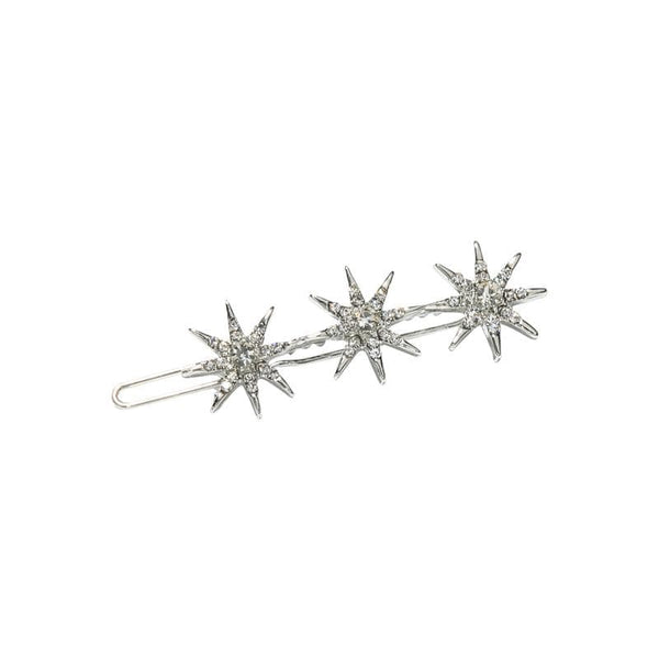 Hair Clips With Star Crystal