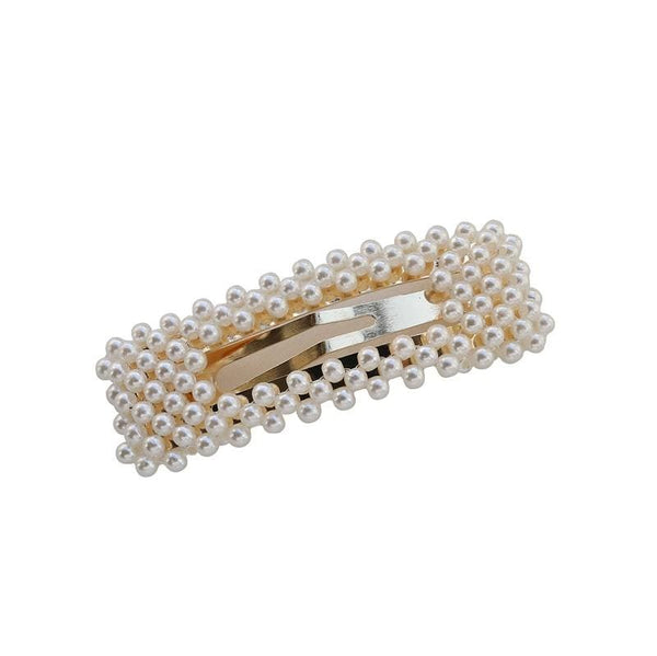 Hair Clips With Pearl