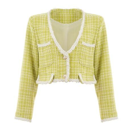 Rixo Yellow Blend Jacket