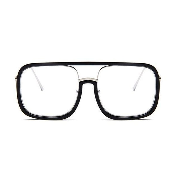 Square Frame Black Glasses