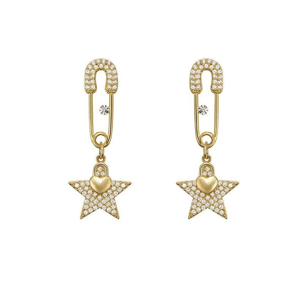 Star Pattern Earrings