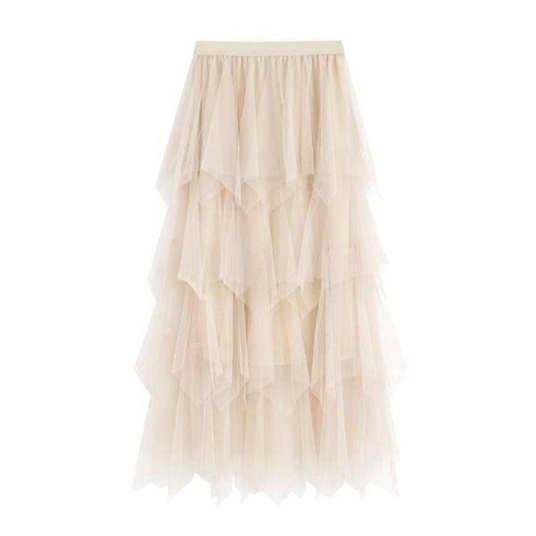 Tulle Nude Layer Skirt