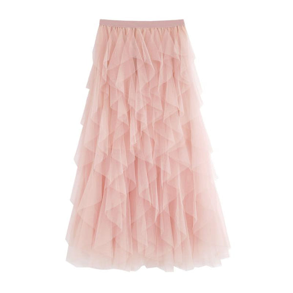 Tulle Pink Layer Skirt