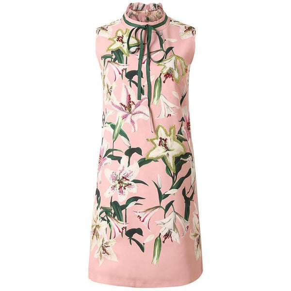 Victor Pink Embellished Dress
