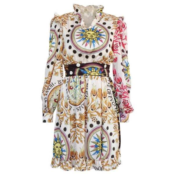 Zayna Printed Dress