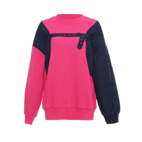Sanzo Two Tone Pink Sweater