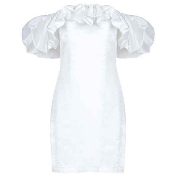 Rola Ruffled Dress