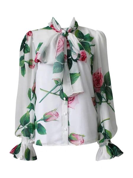 Aimme Floral Printed Top