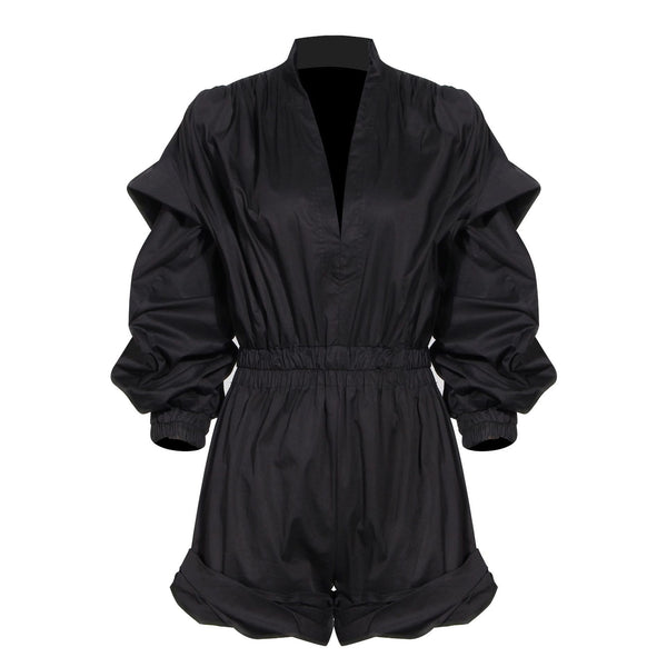 Romea Black Jumpsuit