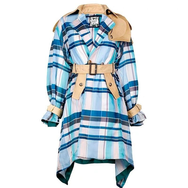 Bonnie Tartan Trench Jacket