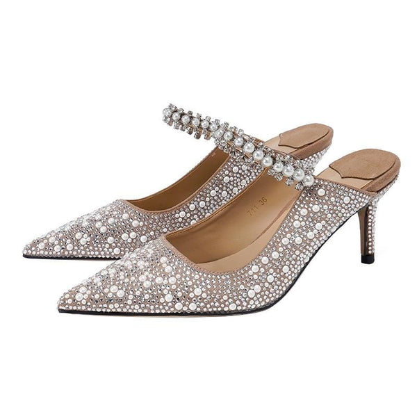 Rosie Embellished High Heels