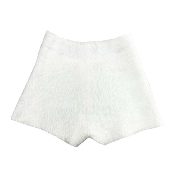 Cozy White Short