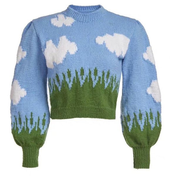 Sky Pattern Sweater