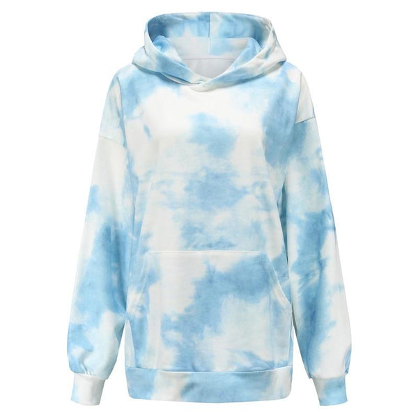 Tie Dye Blue Sweater