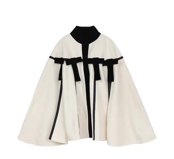 Kamaso With Bow Cape