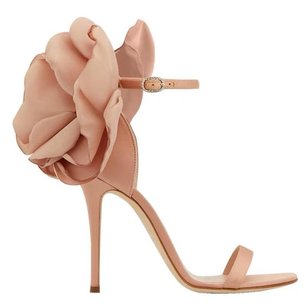 Laure Details Nude High Heels