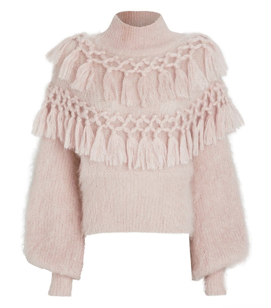 Bella Pink Sweater