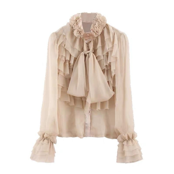 Kiko Ruffled Top