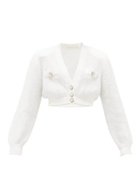 Moga Crystal Embellished Jacket