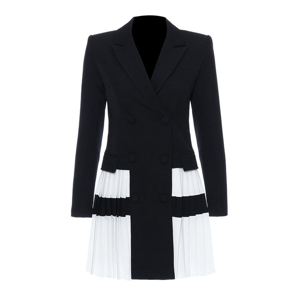 Talin Pleated Blazer Jacket
