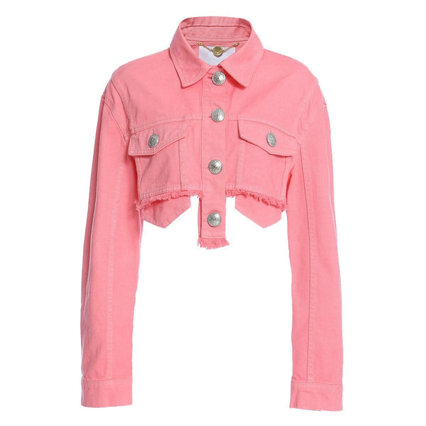 Kieth Details Pink Jacket
