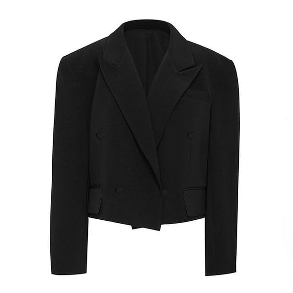Urdu Black Blazer Jacket