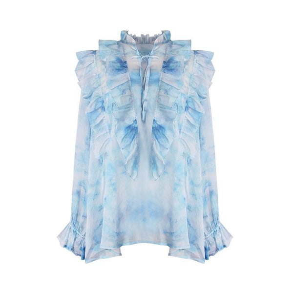 Belle Ruffled Top