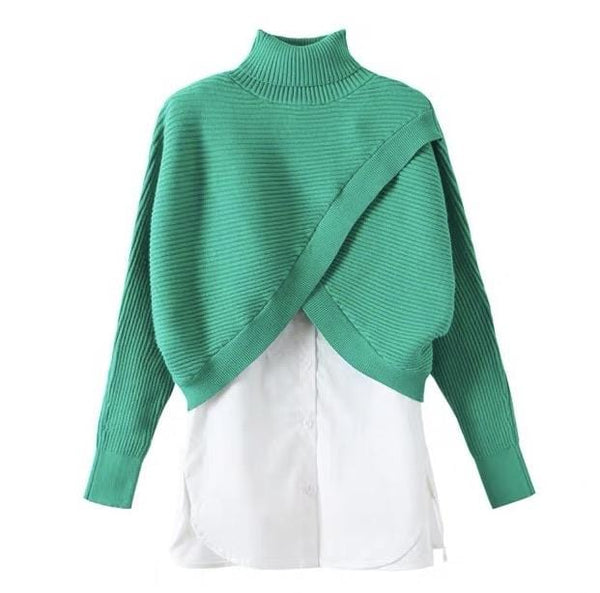 Fitz Green Sweater