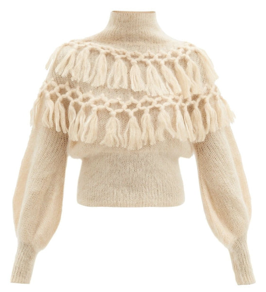 Bella Nude Sweater