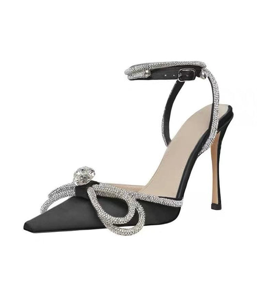 Kirra Details Black High Heels