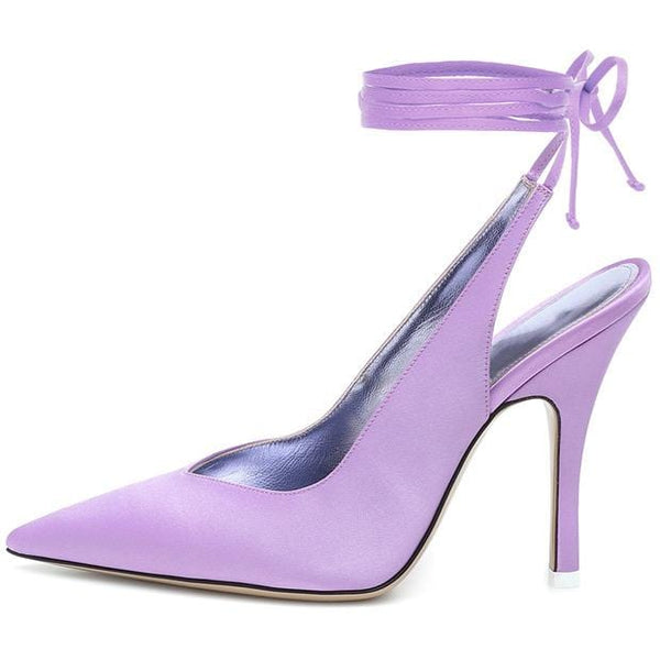 Helena Purple High Heels