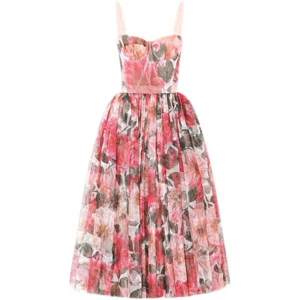 Trisha Flower Pattern Dress