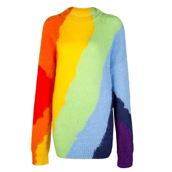 Rainbow Pattern Sweater