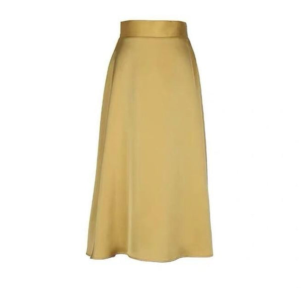 Izar Gold Skirt