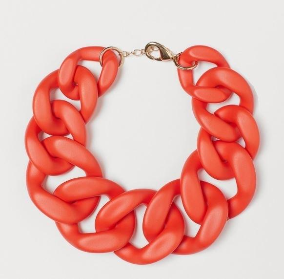 Red Chain Necklace