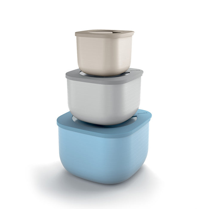 Guzzini Deep Airtight Containers Set of 3