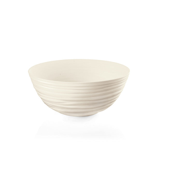 Guzzini Earth Large Bowl Milk White