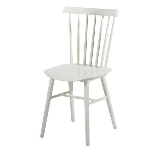 Valise York Dining Chair White