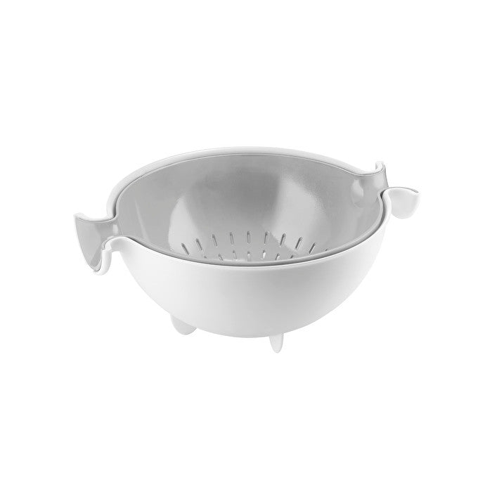 Guzzini Colander & Bowl Set Grey