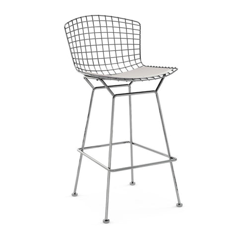 Set of 2 Replica Phillipe Starck Ghost Barstool 65CM White