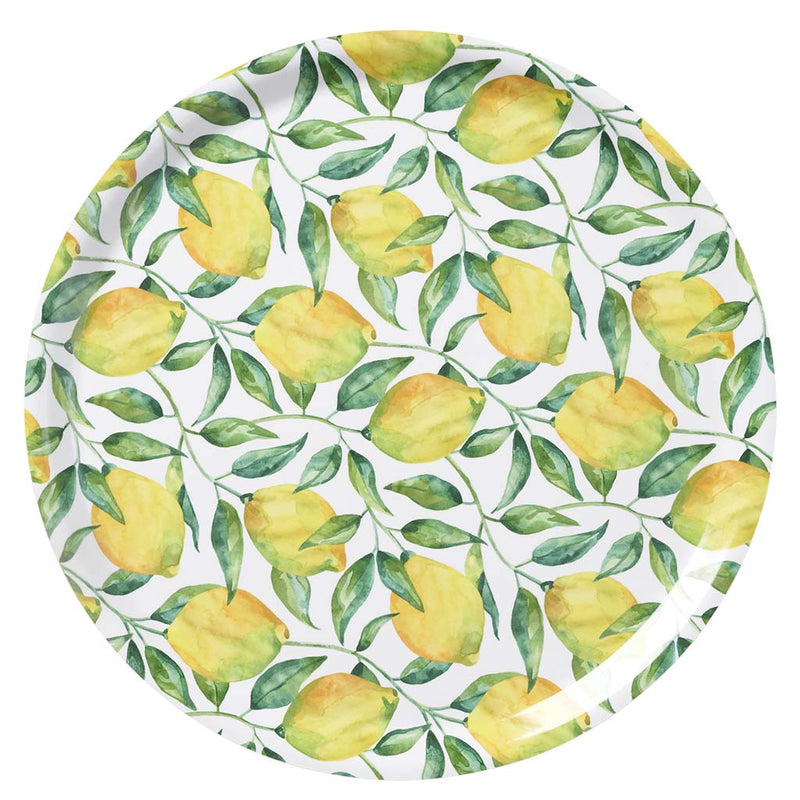 Klippan Lemon Tree Tray Round