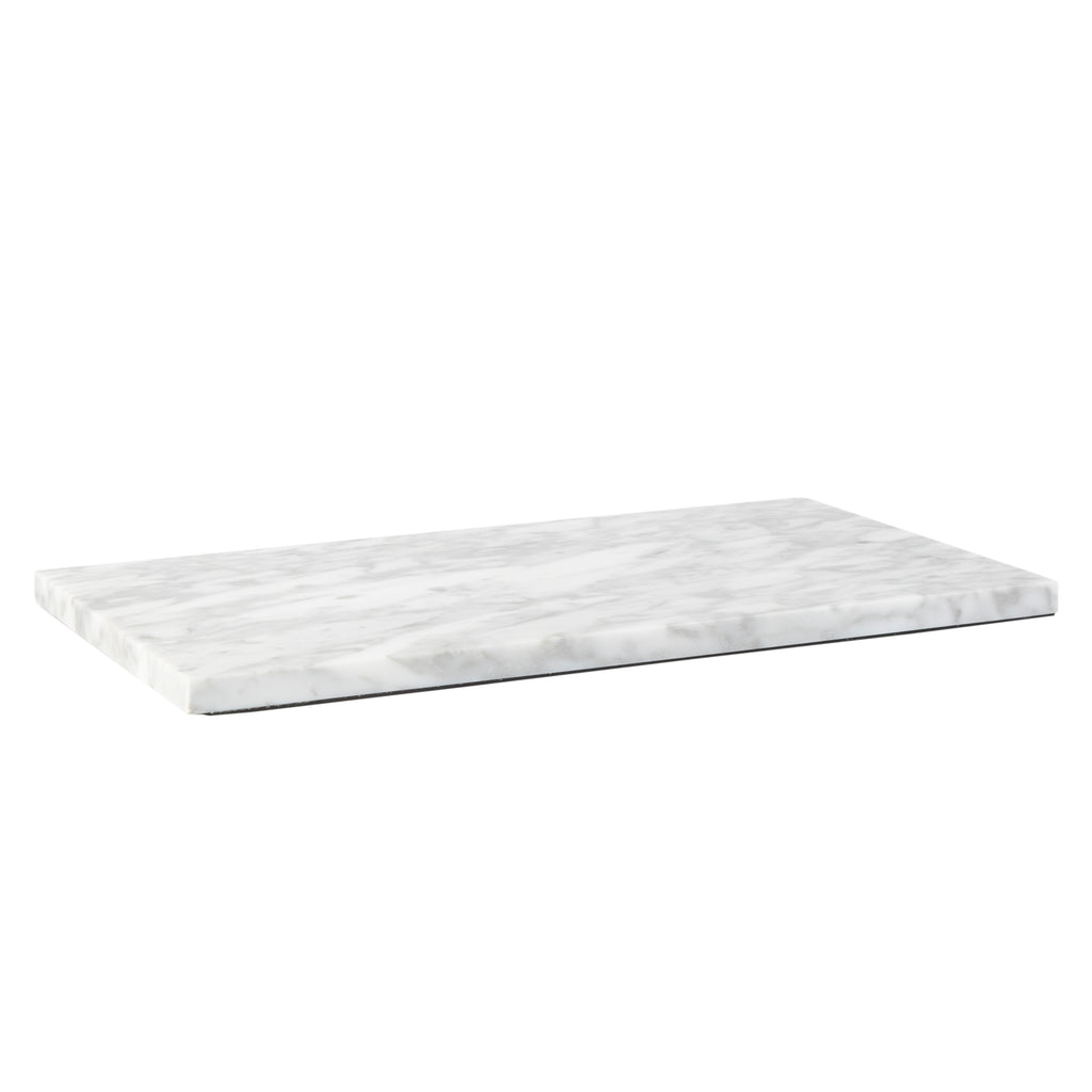 Valise Carrara Cheese Board 45cm White Marble