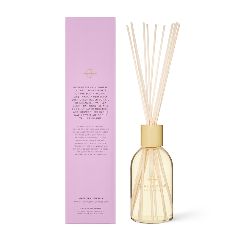 Glasshouse Fragrances 250ml A Tahaa Affair Diffuser