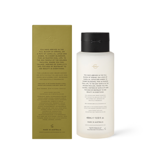 Glasshouse Fragrances 400ml Kyoto in Bloom Shower Gel