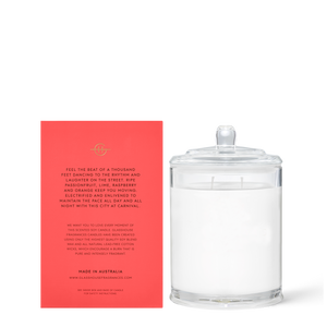 Glasshouse Fragrances 380g One Night in Rio Candle