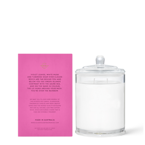 Glasshouse Fragrances 380g Over the Rainbow Candle
