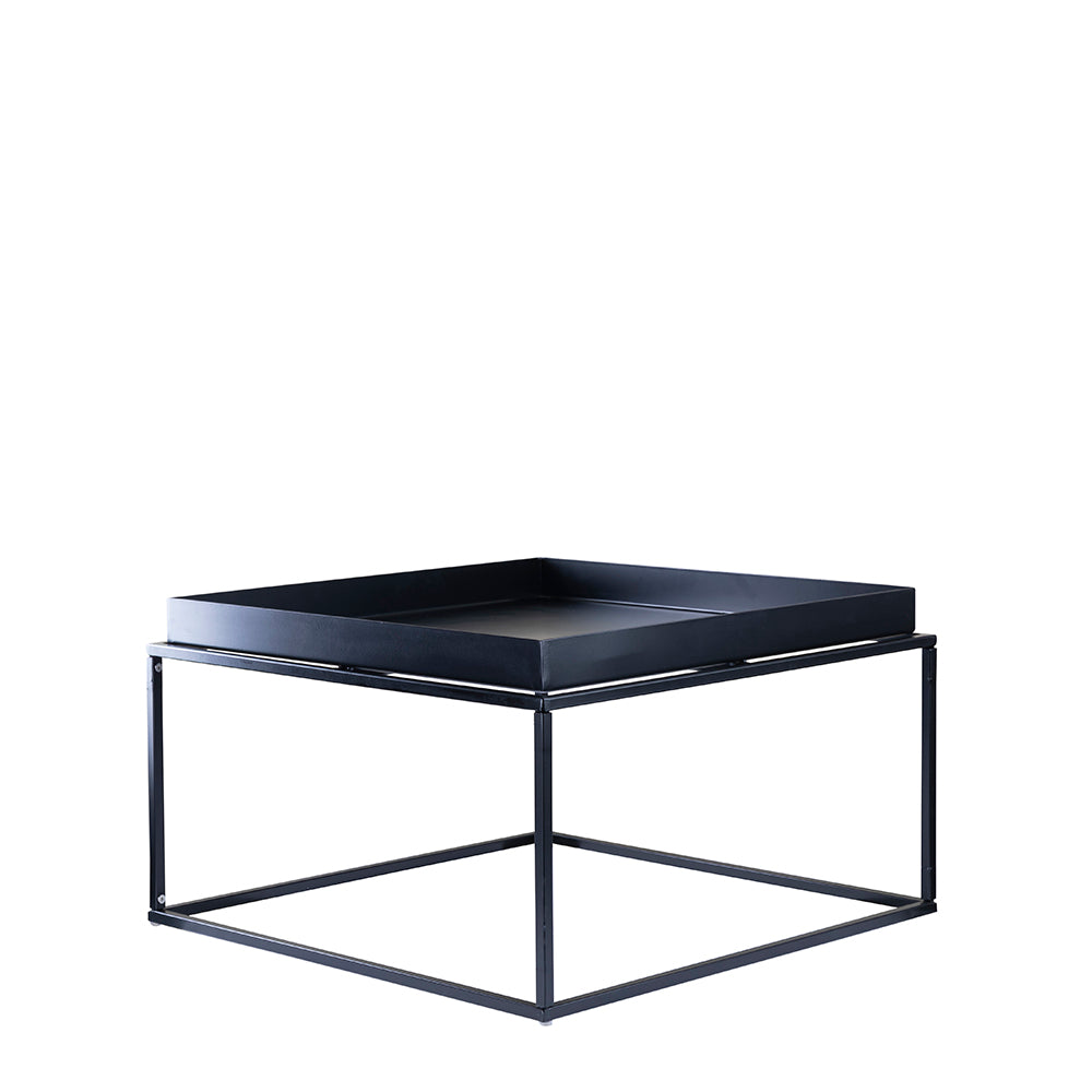 Valise Brooklyn Coffee Table in Obsidian Black