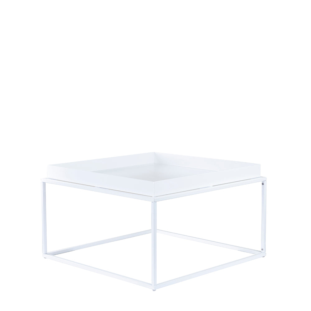 Valise Brooklyn Coffee Table in Alabaster White